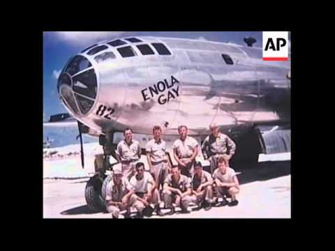 Log books of Hiroshima bomber Enola Gay auctioned