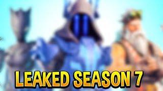*NEW* LEAKED Fortnite Season 7 Battle Pass Skins..! *SPOILER ALERT*