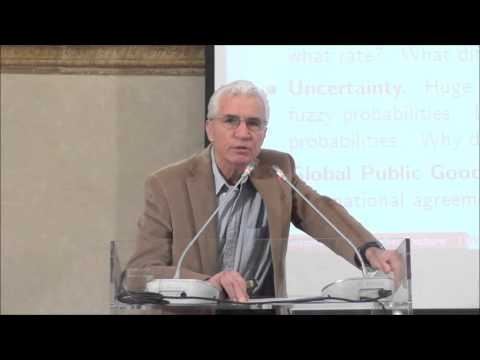Max Weber Lecture by Martin Weitzman (Harvard University), 21 October 2015