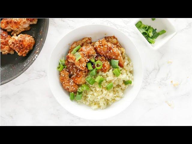 Healthy Sesame Chicken | paleo recipes for dinner