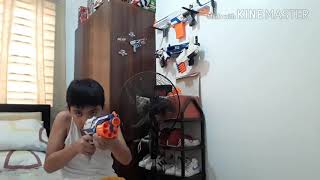 Amazing Nerf Disruptor Fire Fx Test