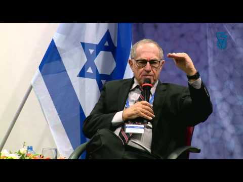 Alan Dershowitz at Technion - Questions & Answers about Israel and the World