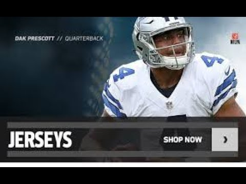 competitive price a79d3 778db Dallas Cowboys Jerseys - Cowboys Jerseys | NFL Shop