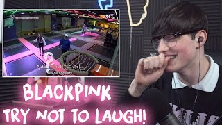 BLACKPINK Try Not To Laugh Challenge Reaction!! (definitely failed lol)