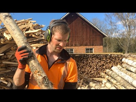 How We Make Over 10 Cords of Firewood / Year Using Low Budg... | Setup Demo
