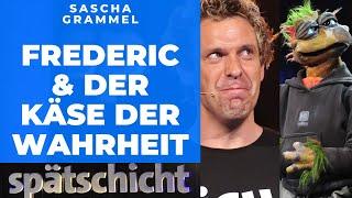 Sascha Grammel und Frederic schauen in die Zukunft