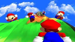 The Hardest Mario 64 Rom Hack Ever... ft. Nathaniel Bandy, TetraBitGaming, Charriii5