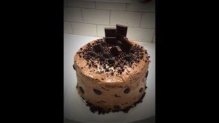 """ТОРТ """"Прага"""". Как испечь торт Прага в домашних условиях. Самый ВКУСНЫЙ шоколадный торт."""