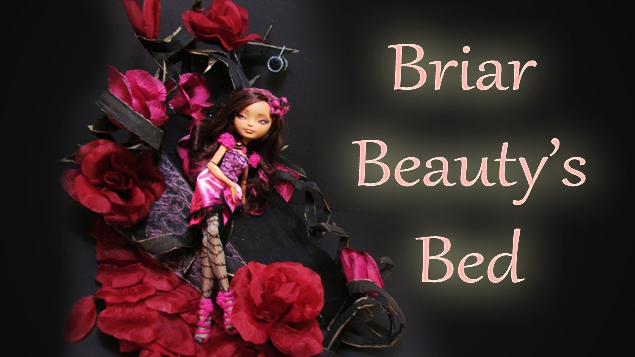 Briar Beauty Bed Tutorial [EVER AFTER HIGH] - YouTube