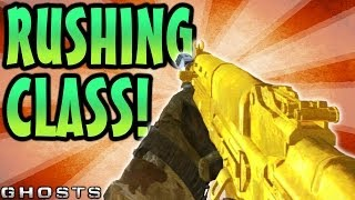 COD Ghosts: Best Rushing SMG Class! Rushing Class Setup Guide (Call Of Duty Ghost Tips & Tricks)