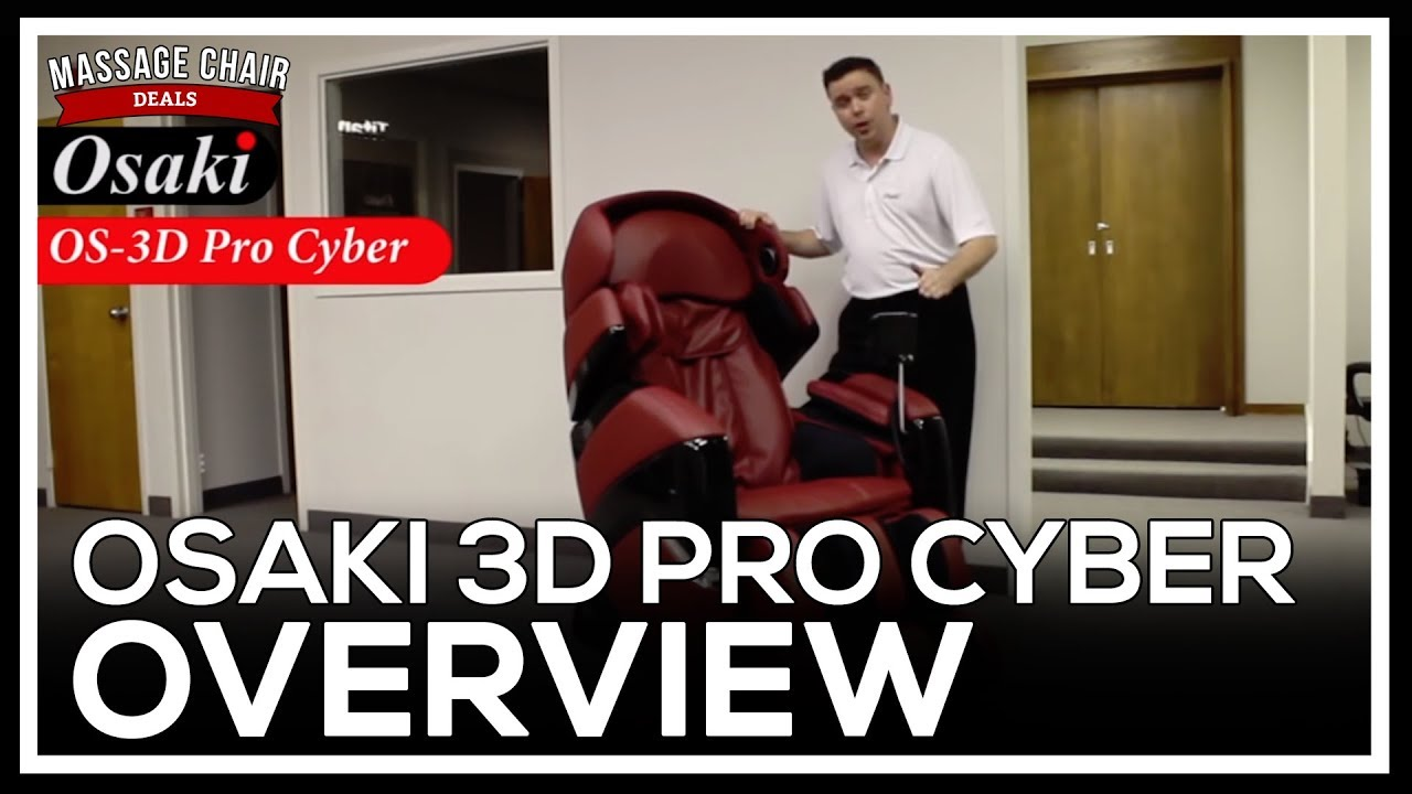 Osaki OS 3D Pro Cyber Massage Chair Features