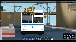 MTA Bus RARE: Rosedale bound 1997 Orion V (Ex-Green Lines) Q111 [#5984] @ 153 St-Jamaica Av