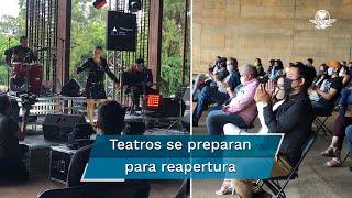 Los teatros en México se preparan para la reapertura, algunos, incluso, ya han abierto al público en ciudades como Cuernavaca, San Luis Potosí y Ciudad Juárez