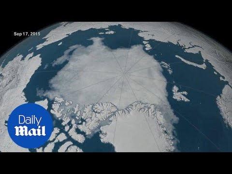 Arctic ice appears to have reached a record low for second year - Daily Mail