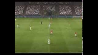 Реал Мадрид - Манчестер Юнайтед  ПЕС-2013