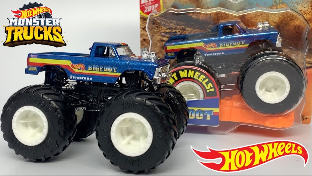 Hot Wheels Monster Trucks Bigfoot 8 Review Youtube