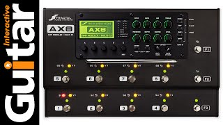 Fractal AX8 Multi Effects Pedal Review