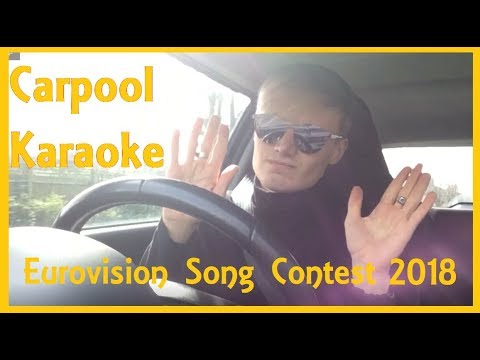 Carpool Karaoke - Eurovision 2018