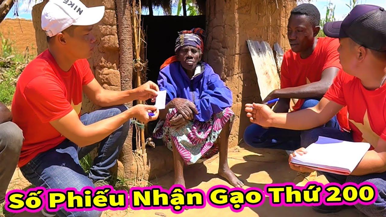 Hoàn Thành Danh Sách 200 Hộ Dân Nhận Gạo Hỗ Trợ Từ Các MTQ Việt Nam Gửi Tặng Người Dân ở Châu Phi