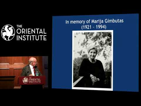Lord Colin Renfrew | Marija Redivia: DNA and Indo-European Origins