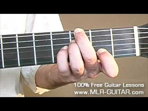 The Girl From Ipanema Guitar Lesson #1 of 3 (old version)