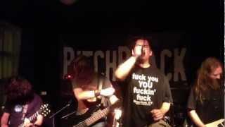PitchBlack - Your Fucking Below Me(Live Aarhus Denmark 2012)