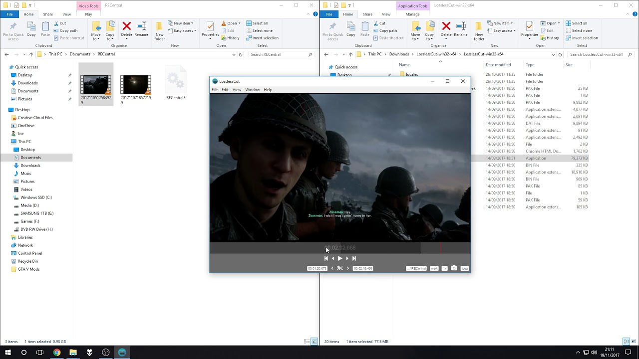 How to trim mp4 file without re encoding super quick youtube how to trim mp4 file without re encoding super quick ccuart Choice Image