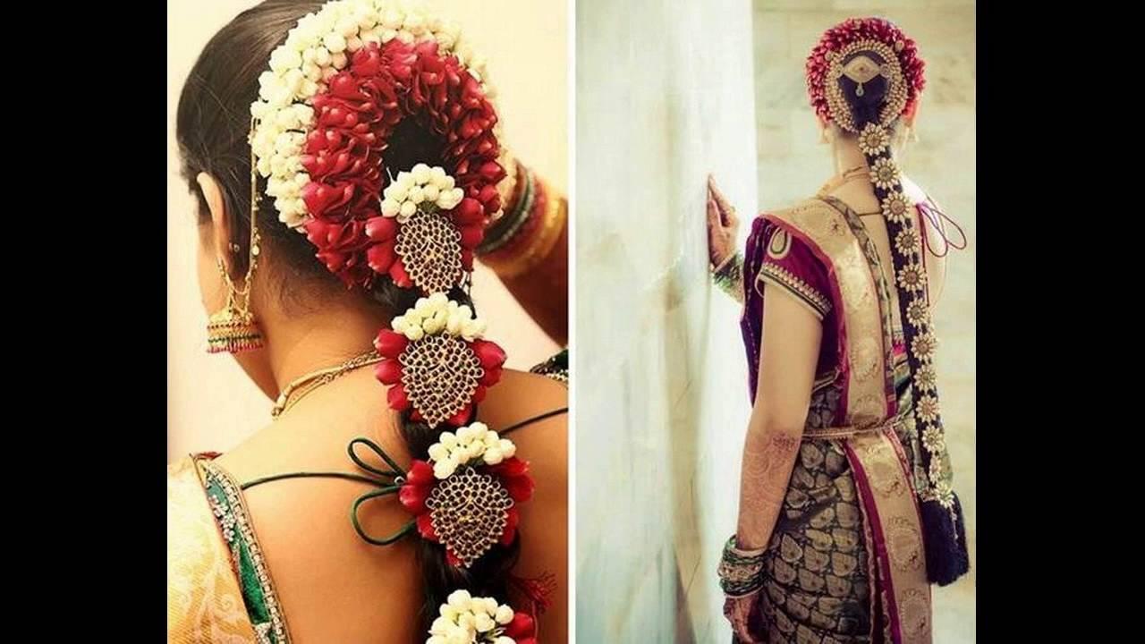 wedding hairstyles for long hair in tamilnadu ~ the royal