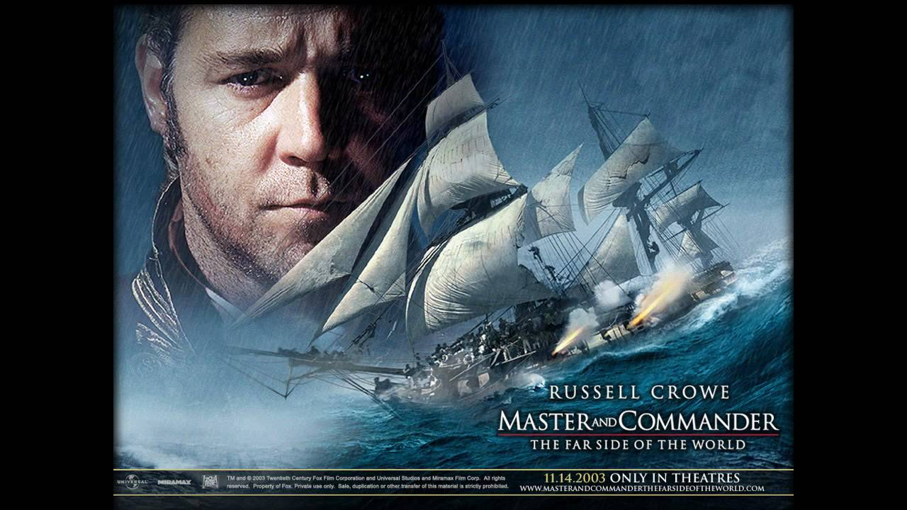 master and commander Master and commander: the far side of the world blu-ray (2003): starring russell crowe, paul bettany and billy boyd captain lucky jack aubrey, renowned as a fighting captain in the british navy, and ship's doctor.