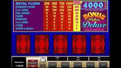 BONUS POKER DELUXE online free casino SLOTSCOCKTAIL microgaming