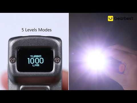 NITECORE TUP Portable 1000lm EDC Pocket Flashlight - Gearbest.com