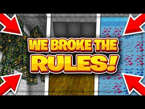 WE BROKE THE RULES!!! | VanityMC (Minecraft Skyblock)