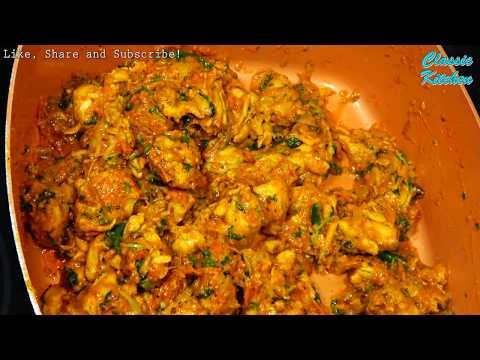 [4K] Homemade Boneless Chicken Karahi Curry Recipe, Pakistani-Indian Food