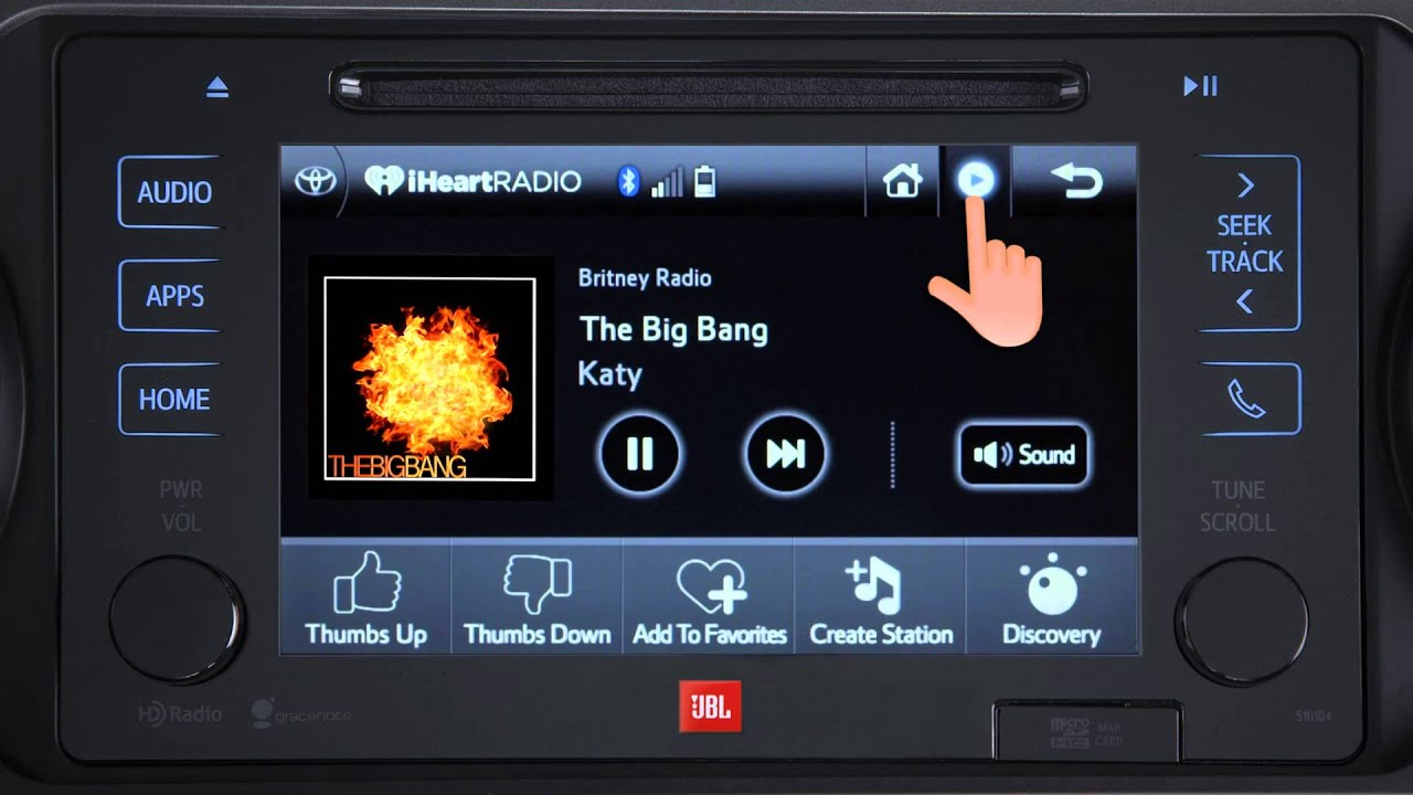 How to Video Toyota Entune iHeart Radio