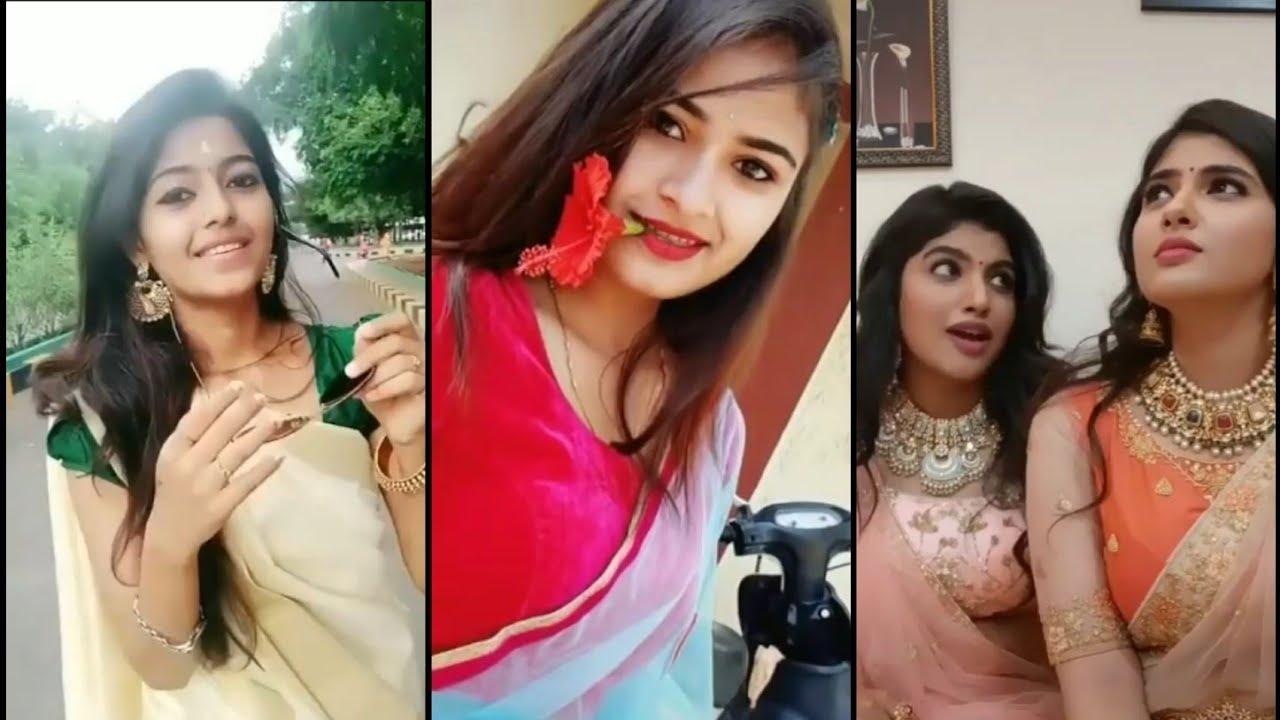 Download traditional saree tik tok tamil |tik tok beautiful girl saree tamil|tamil tik tok video