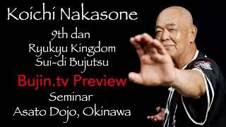 Bujin.tv Preview  - Koichi Nakasone Seminar Pinan Sandan bunkai / Pinan Yondan bunkai
