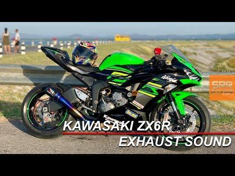 kawasaki zx6r 2019 exhaust sound