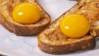 Теперь делать яичницу на завтрак вы будете только так. Бутерброды из яиц.