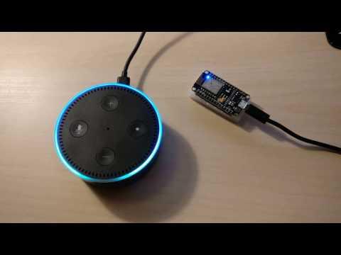 ESP8266 NodeMcu mit Amazon Echo (Alexa) steuern | IoT/das Internet der Dinge