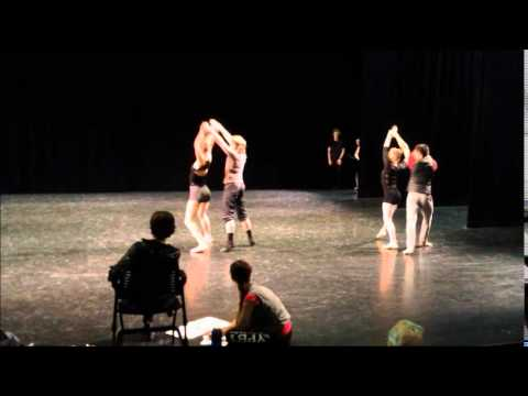Grand Rapids Ballet rehearses Susan Jaffe's Weather One