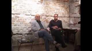 Armando Romero, poeta. Lectura y presentación de El Color del Egeo, en Venecia