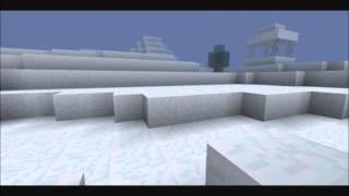 Minecraft arctic snow & ice biome adventure.