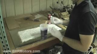 Bailey Blade XTR Car Design | First Tutorial! How to make flexible fiberglass panels - Part 22