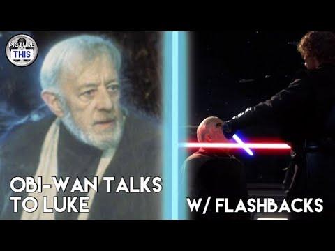 Obi-Wan Talks to Luke w/ Flashbacks - Return of the Jedi Fan Edit | Picture  This Studios [1080p HD]