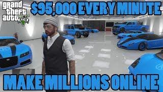 GTA 5 Online: Unlimited Money, Make Millions, Los Santos Customs Vehicle Glitch