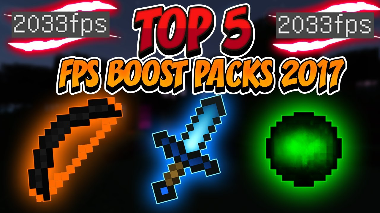 Top 5 Minecraft Pvp Texture Packs 2017 Fps Boost No Lag