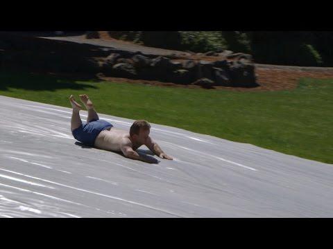 The Roloffs' 100-foot Water Slide