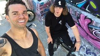 STEVIE = THE BEST BMX RIDER ALIVE