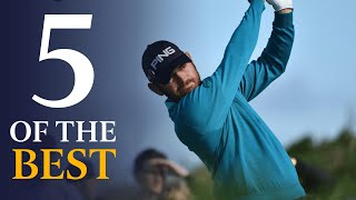 INCREDIBLE holes-in-one | Five Of The Best Open Holes in One