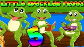 Five 5 Little Speckled Frogs Song ????????????????✨ | ✨ Kido Garden Nursery Rhymes & Kids Music